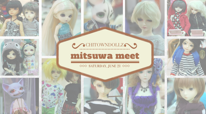 ChitownDollz Mitsuwa Meetup Collage