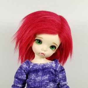 6/7 Red Wig