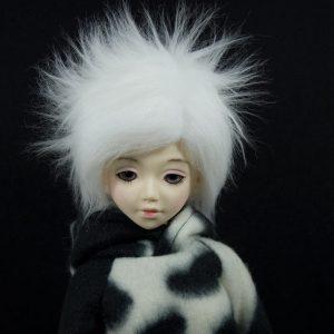 6/7 White Wig