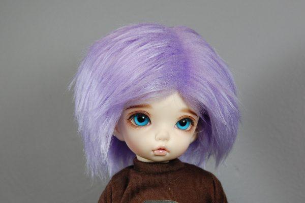6/7 Purple Wig
