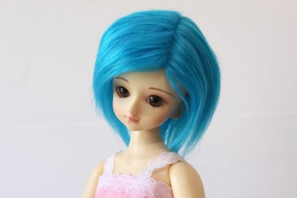 7/8 Blue Wig