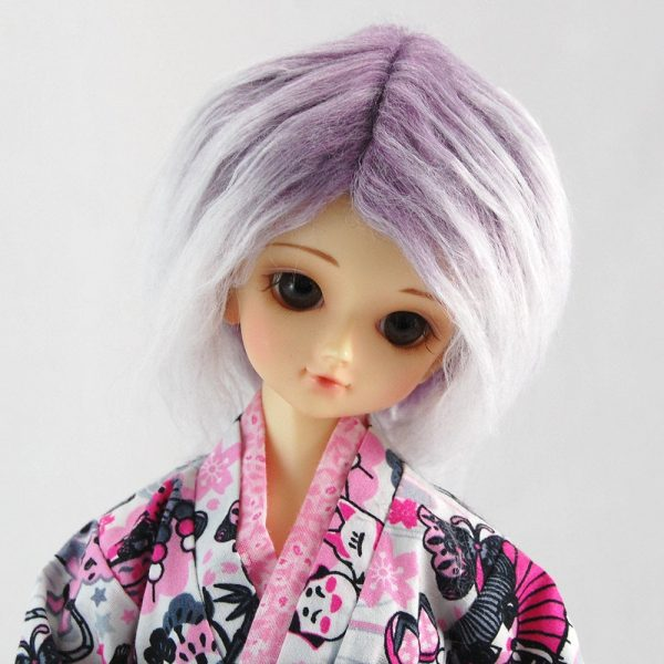 7/8 Purple Gradient Wig