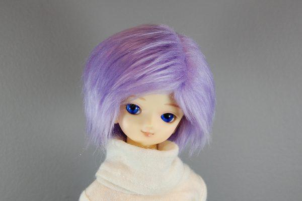 7/8 Purple Wig