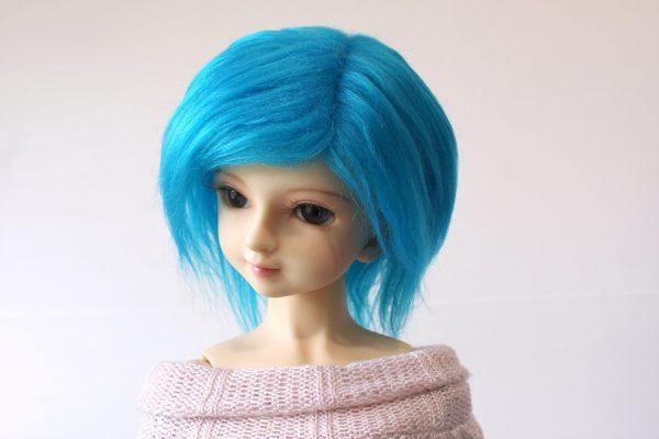 8/9 Blue Wig