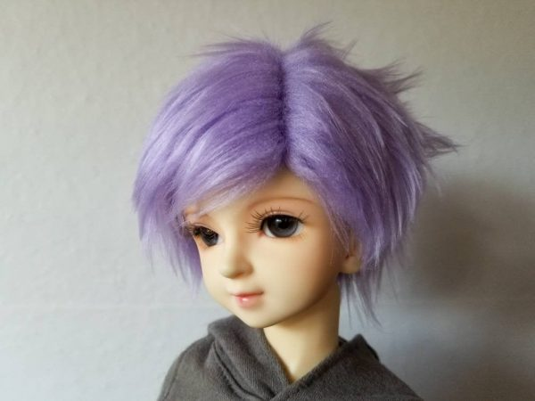8/9 Purple Wig