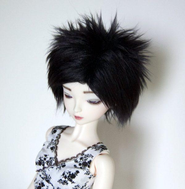 9/10 Black Wig