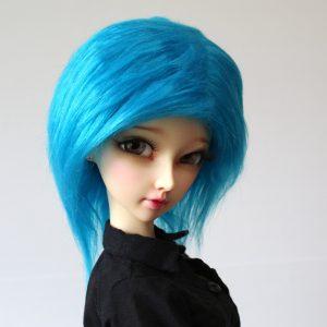 9/10 Blue Wig