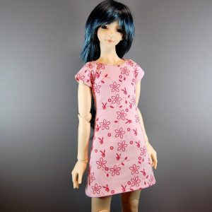 SD13 Boy Pink Dress