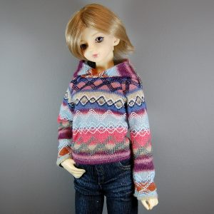 SD Girl Fair Isle Sweater