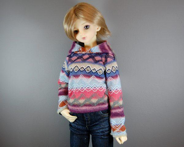 SD Girl Fair Isle Sweater