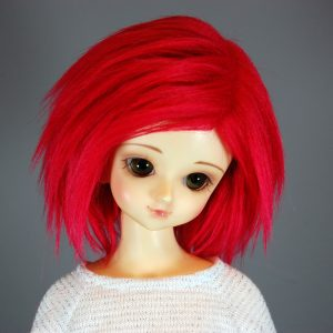 7/8 Red Wig