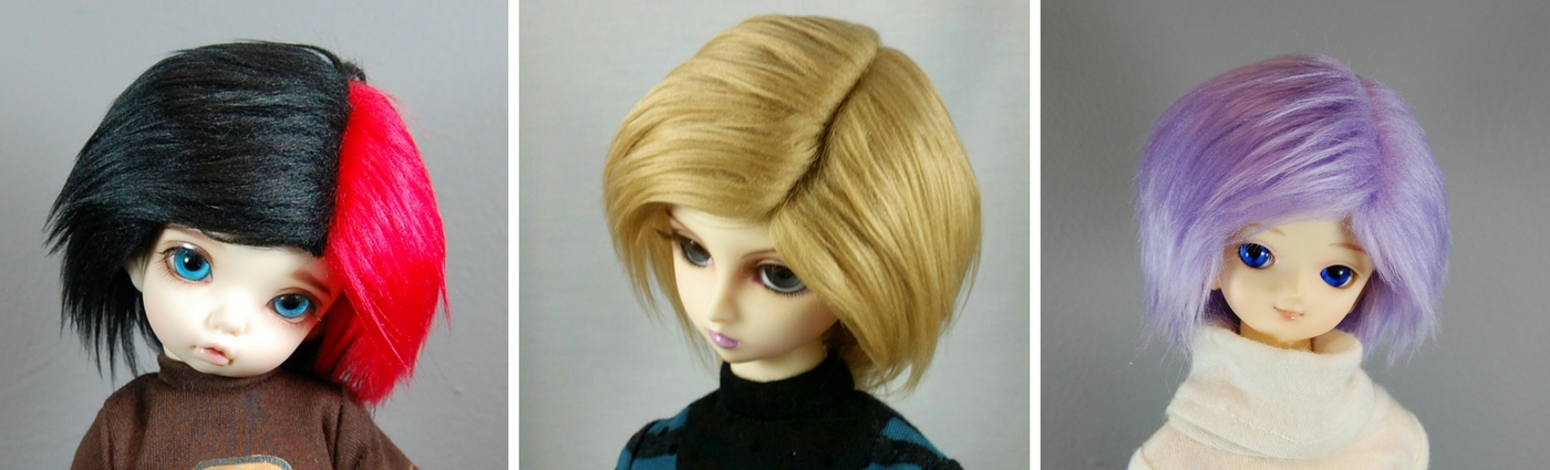 Wigs for BJD from Resin Melody
