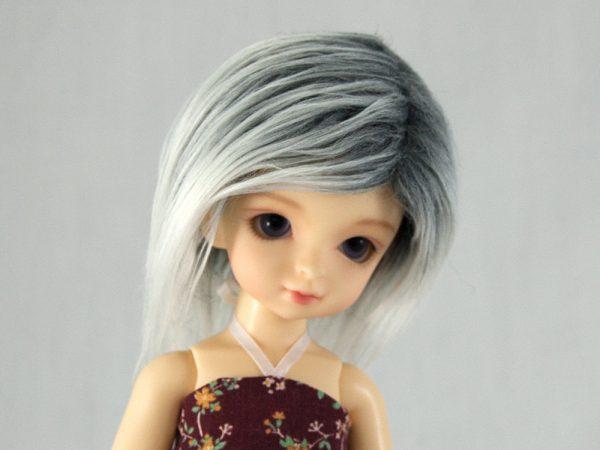 6/7 Grey Gradient Wig