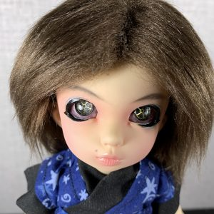 14mm Red Sclera Steampunk BJD Eyes