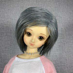 7/8 Grey Wig