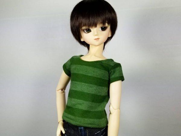 MSD Green Stripe Shirt