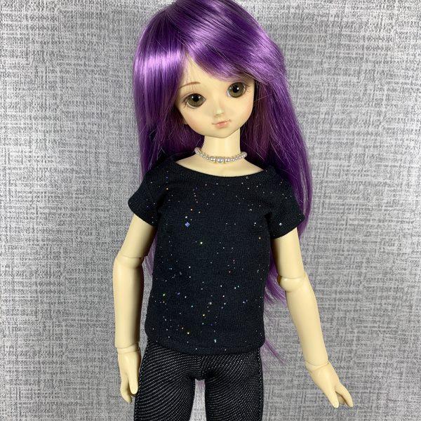 MSD Black Sparkles T-Shirt