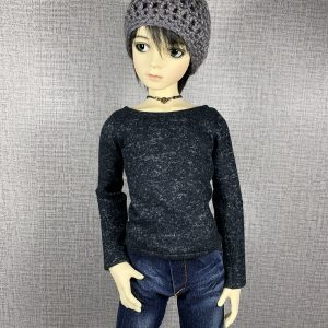 SD13 Boy Black Sweater