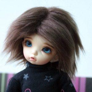 6/7 Brown Wig