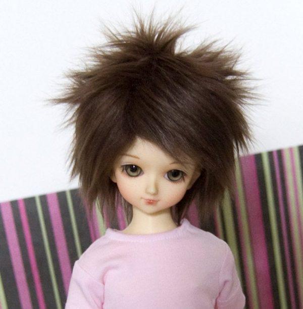 7/8 Brown Wig