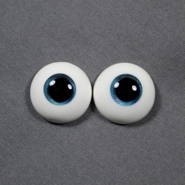 18mm Blue Green Eyes
