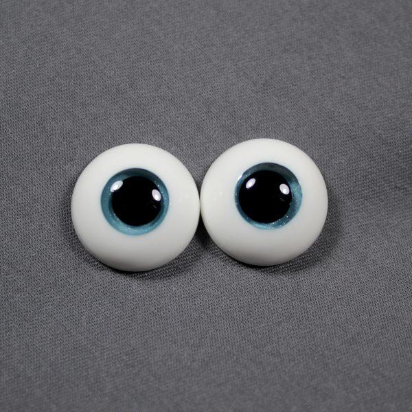 18mm Teal Eyes