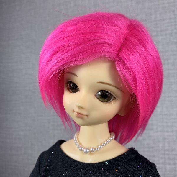 7/8 Pink Wig