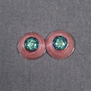 12mm Red Sclera Blind